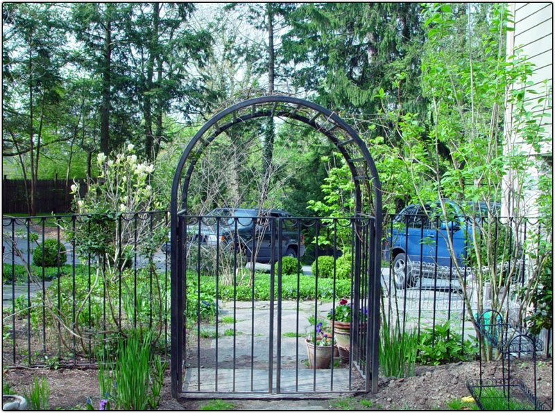 Metal arbors with gates pixshark images