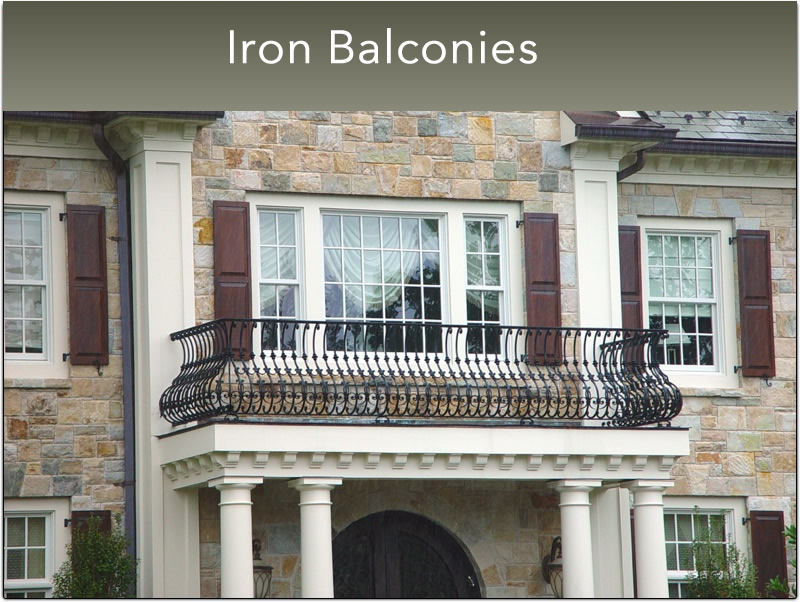 B- Small Iron Balconies (11)