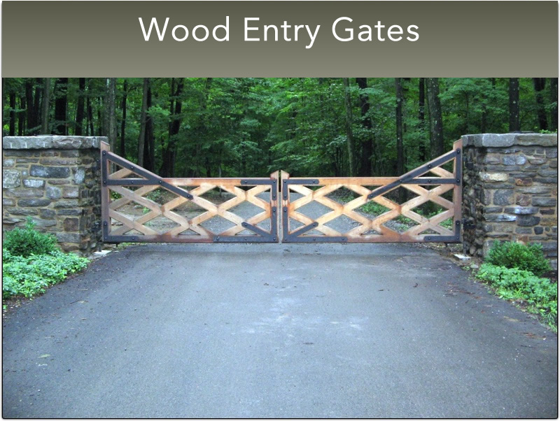 G- Small Wood Entry Gates (37)