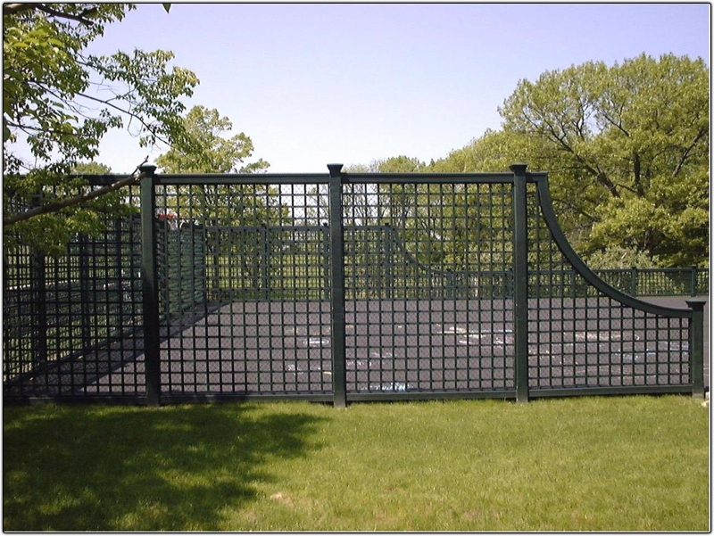 Tennis Court Fencing Garon Fence Bedford Ironworks